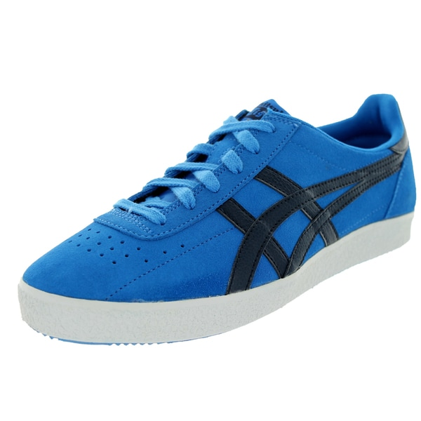 Onitsuka Tiger Unisex Vickka Moscow Blue Suede Shoes