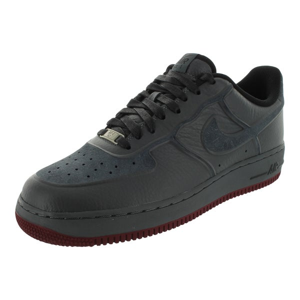 Nike Men's Air Force 1 PRM Skive Tec VT Grey Leather Basketball Shoe