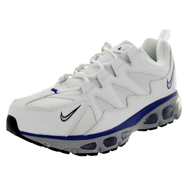 Nike Men's Air Max Tailwind 96-12 White/Wolf Grey/Black/Old Ryl Running Shoe (Size 8)