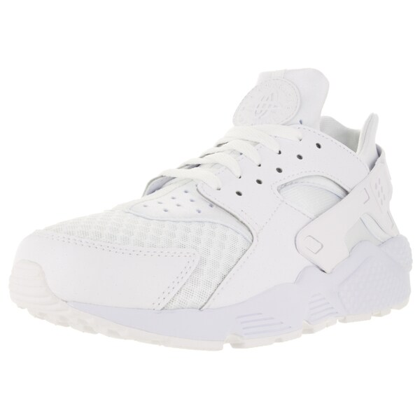 Nike Men's Air Huarache White/White/Pure Platinum Running Shoe
