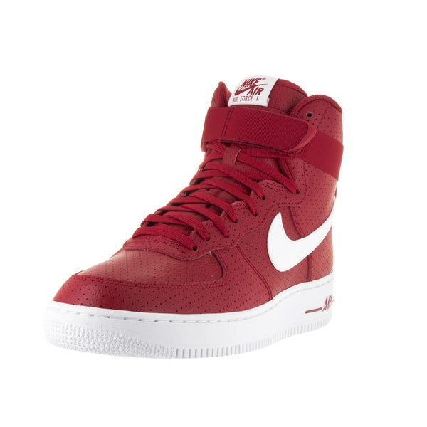 Nike Men's Air Force 1 High '07 Gym Red/White/White Basketball Shoe