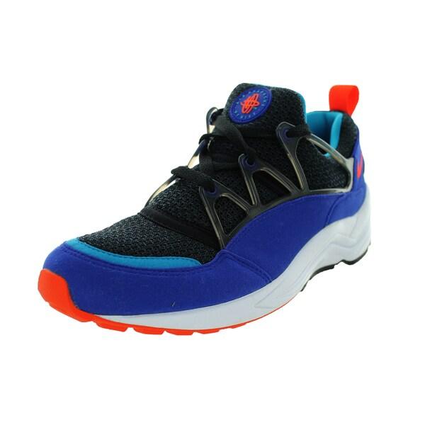 Nike Men's Air Huarache Light Concord/Team Orange/Black Running Shoe