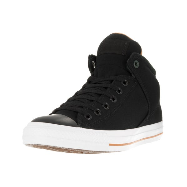 Converse Unisex Chuck Taylor All Star High Street Hi Black/Casino/White Casual Shoe