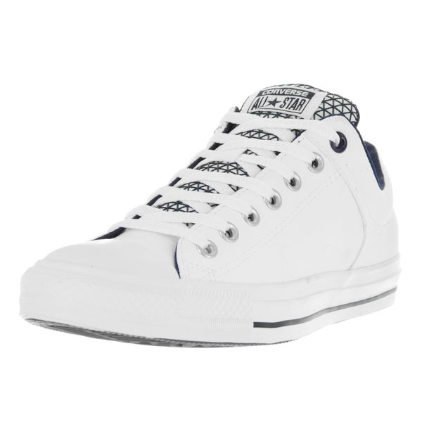 Converse Unisex Chuck Taylor All Star Street Ox White/Obsidian/Black Casual Shoe