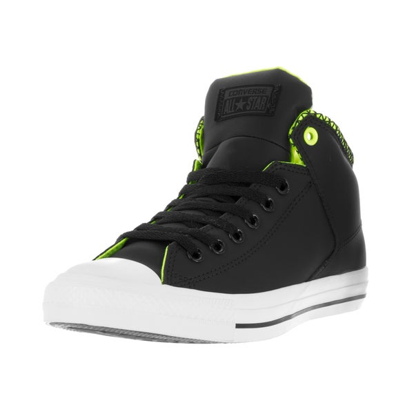 Converse Unisex Chuck Taylor All Star High Street Hi Black/White/Volt Casual Shoe