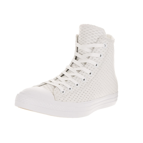 Converse Unisex Chuck Taylor All Star Hi White/White Basketball Shoe