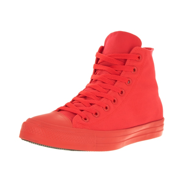 Converse Unisex Chuck Taylor All Star Hi Bright Crimson/C Basketball Shoe