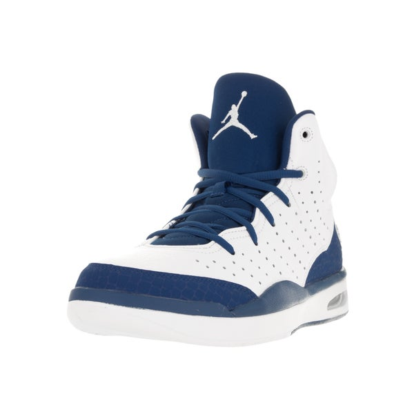 Nike Jordan Men's Jordan Flight Tradition White/French Blue Basketball Shoe