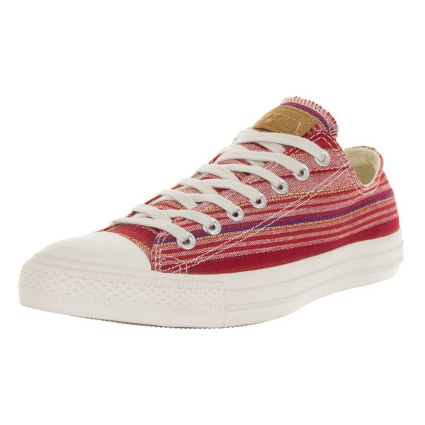 Converse Unisex Chuck Taylor All Star Ox Converse Red Casual Shoe