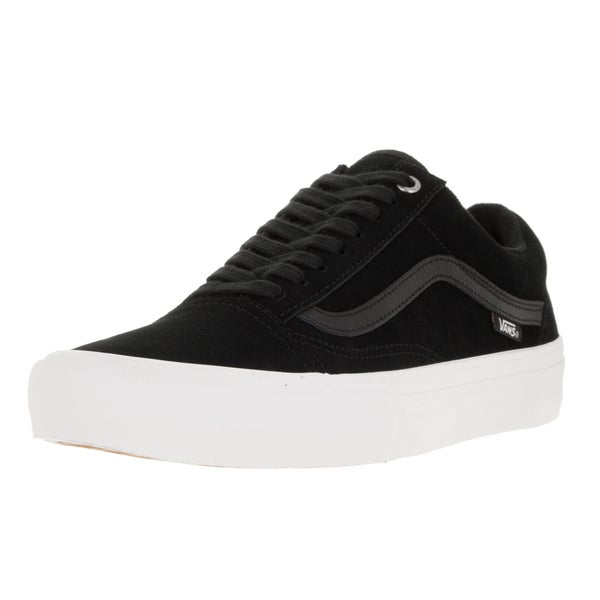 Vans Men's Old Skool Pro Blac Black/Black/White Skate Shoe