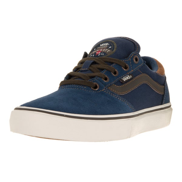 Vans Men's Gilbert Crockett Pro Midnight Navy/Brown Skate Shoe