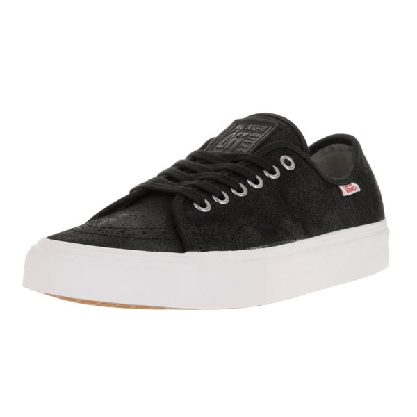 Vans Men's 'AV Classic' Black and White Oiled Suede Skate Shoes