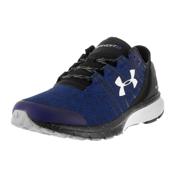 Under Armour Men's UA Team Charged Bandit 2 Try/Blk/Wht Running Shoe