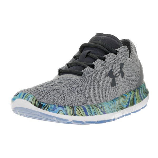 Under Armour Men's UA Speedform Slingride Grey Textile Running Shoe 22201092
