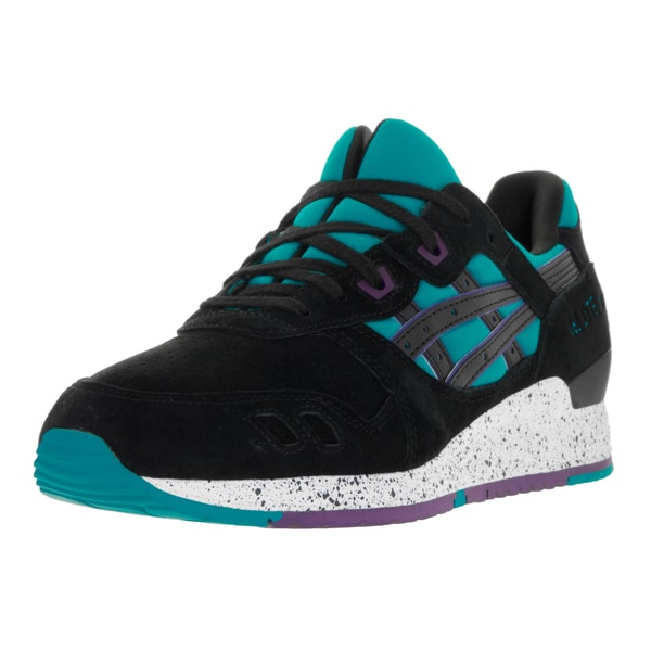 Asics Men's Gel-Lyte III Peacock Blue/Black Running Shoe