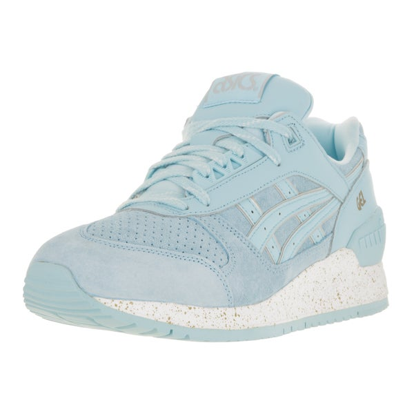 Asics Men's Gel-Respector Blue Suede Running Shoe