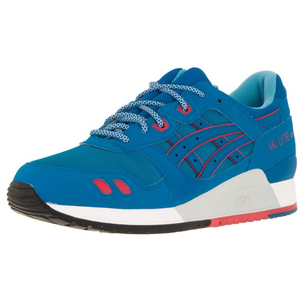 Asics Men's Gel-Lyte III Mid Blue/Mid Blue Running Shoe (Size 10)