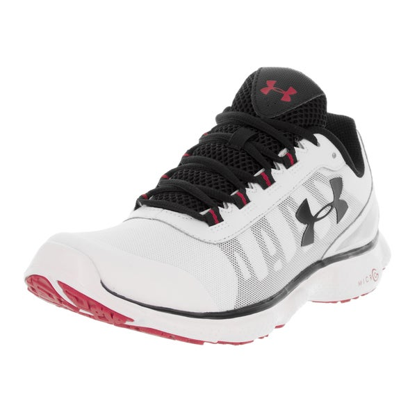 Under Armour Men's UA Micro G Attack 2 H Wht/Wht/Blk Training Shoe
