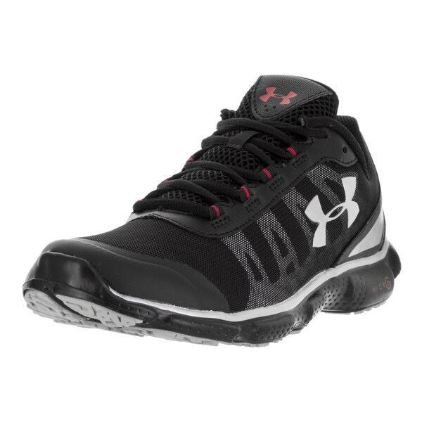 Under Armour Men's UA Micro G Attack 2 H Blk/Blk/Msv Running Shoe