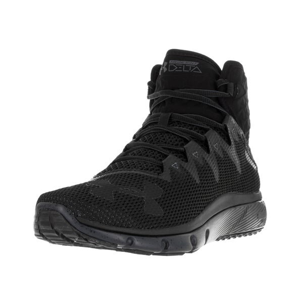 Under Armour Men's UA Highlight Delta Blk/Sty/Blk Running Shoe