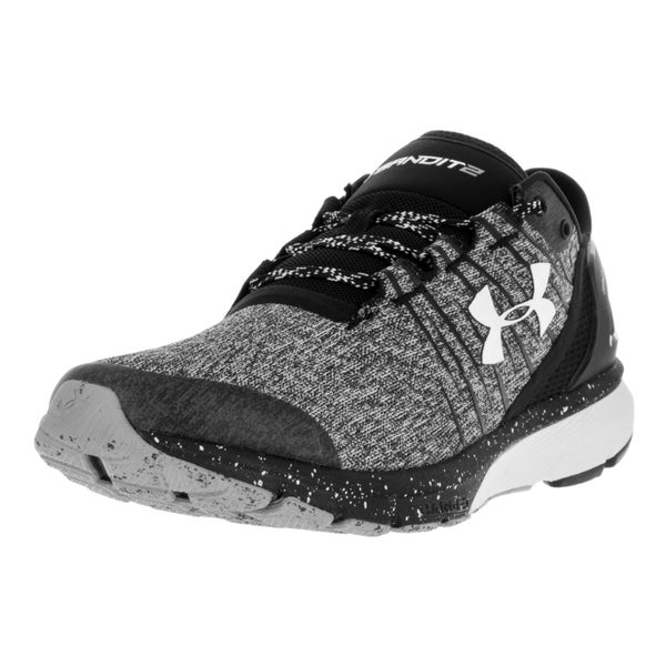 Under Armour Men's UA Charged Bandit 2 Blk/Blk/Wht Running Shoe 22201584
