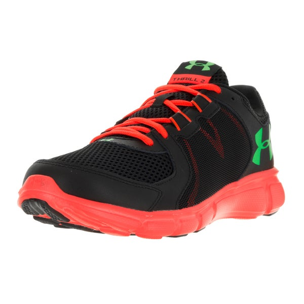 Under Armour Men's UA Thrill 2 Black Fabric Running Shoes