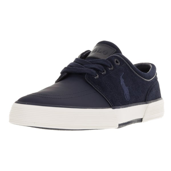 Polo Ralph Lauren Men's Faxon Low Sk Newport Navy/Nn Casual Shoe