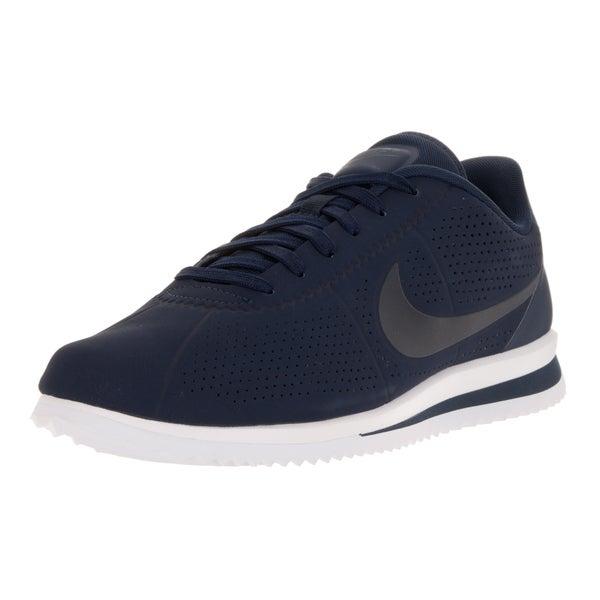 Nike Men's Cortez Ultra Moire Obsidian/Obsidian/White Casual Shoe 22201803