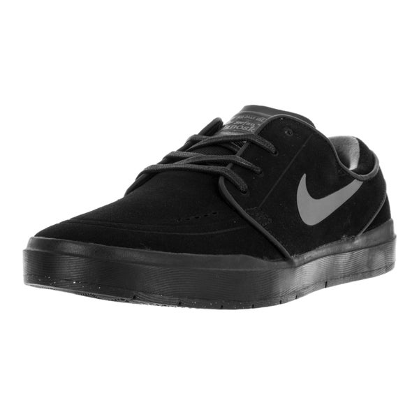 Nike Men's Stefan Janoski Hyperfeel Black Anthracite Suede Skate Shoes
