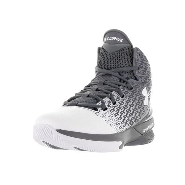 Under Armour Men's Clutchfit Drive 3 Graphite/White Basketball Shoes