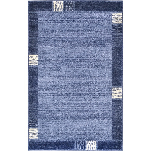 Del Mar Light Blue Rug (3'2 x 5'2) 22208999