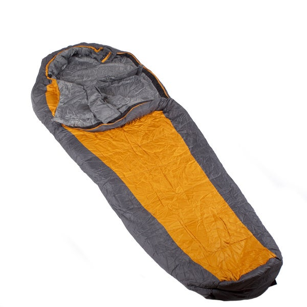 Echo Outdoors Apex Mummy Orange/ Grey Ultra Light Sleeping Bag