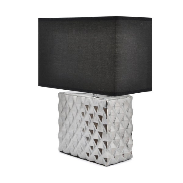 Urban Shop Square Metallic Lamp Shade