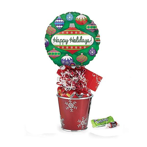 Snowflake Pail Gift Set