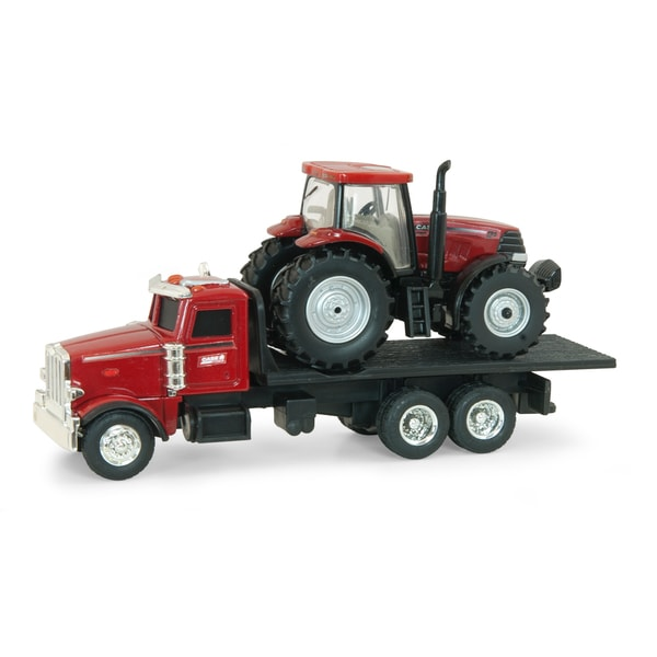 ERTL Case IH Dealer Truck with Puma Tractor