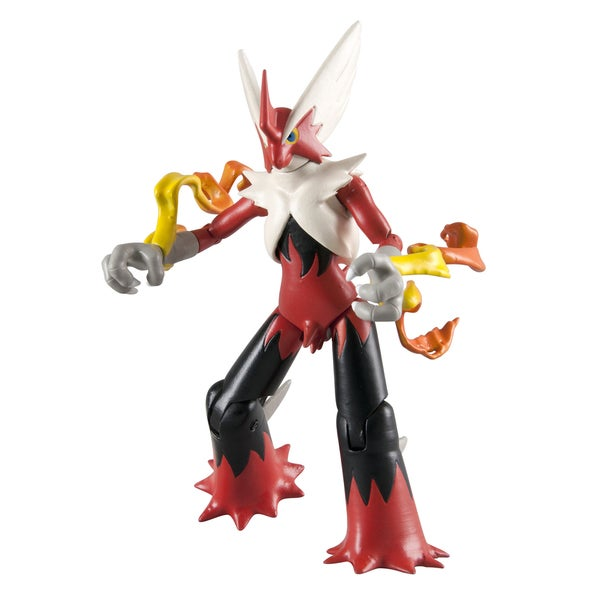 TOMY Pokemon Action Figures Mega Blaziken 22215508
