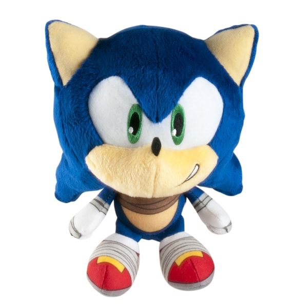 TOMY Sonic Boom Head Plush Sonic