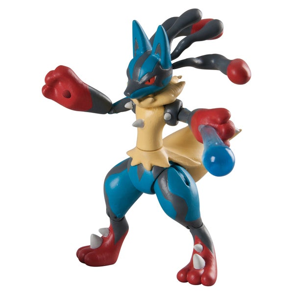 TOMY Pokemon Hero Figure Lucario 22215542