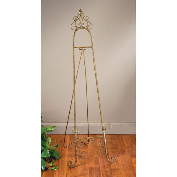 Parisian Gold Metal 53-inch Floor Easel