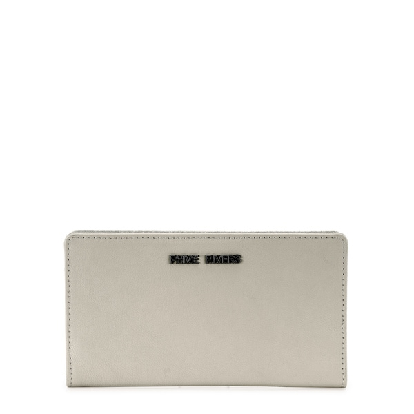 Phive Rivers Womens Leather Wallet (Beige, PR1237)