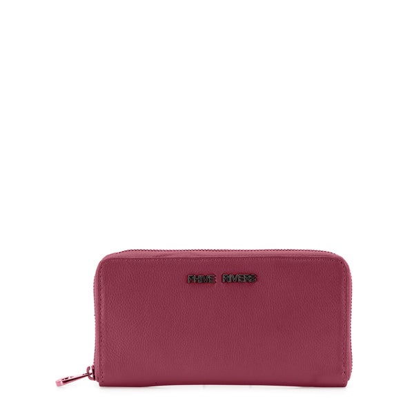 Phive Rivers Womens Leather Wallet (Pink, PR1234)