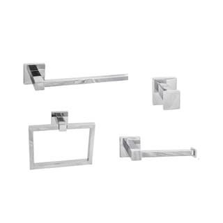 Sure-Loc Vlora Modern 4-piece Bathroom Accessory Set