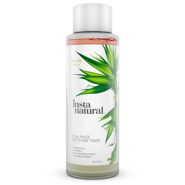 InstaNatural 8-ounce Dual Phase Mattifying Toner