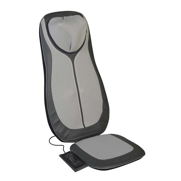Relaxzen Full Back, Neck Rolling, and Shiatsu Massager with Heat