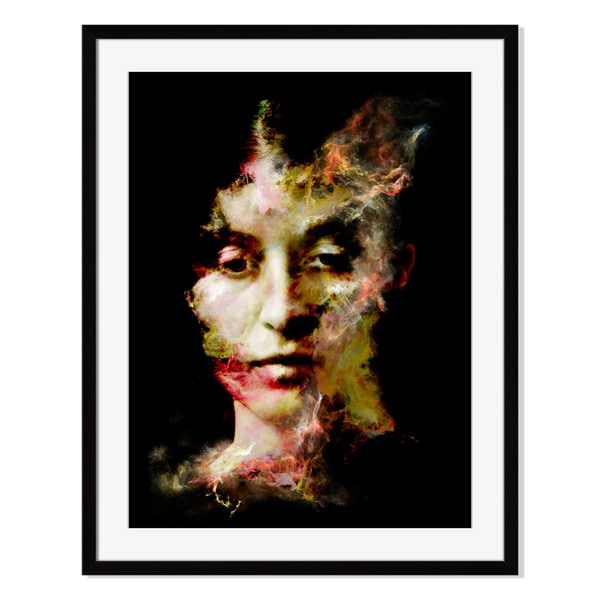 Inner Life of Your Shadow, Framed Paper Print