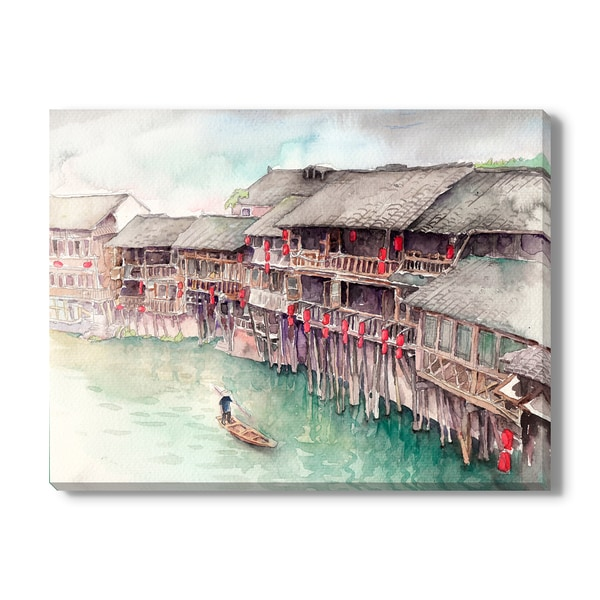 Water Town, China, Canvas Gallery Wrap