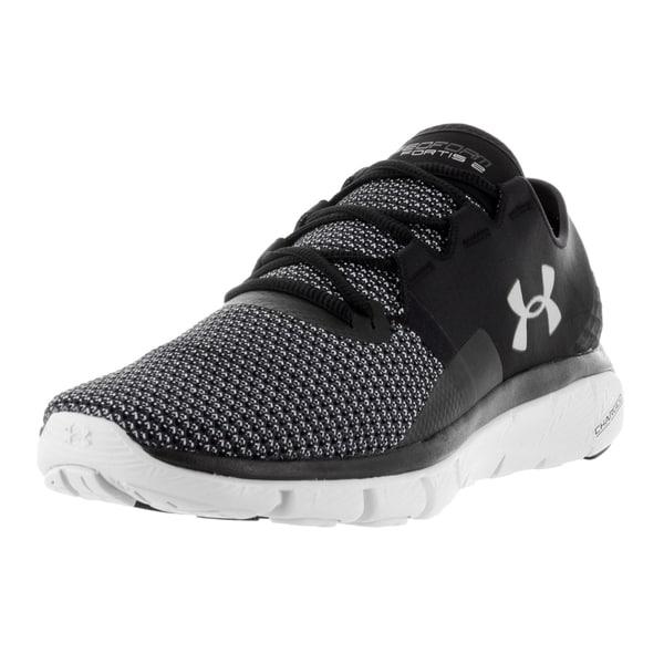 Under Armour Men's UA Speedform Fortis 2 Black Textile Running Shoe