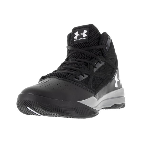 Under Armour Men's Black Fabric Basketball Shoe