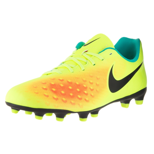 Nike Men's Magista Ola II Yellow Fabric Soccer Cleats