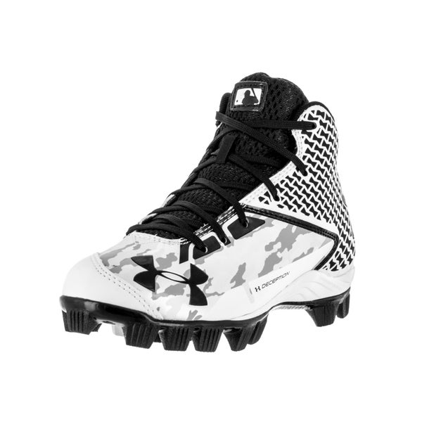 Under Armour Kids UA Deception Mid RM Jr. Baseball Cleat
